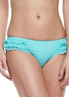 Juicy Couture Prima Donna Ruffled Swim Bottom