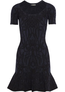 Zac Posen Stretch-jacquard dress