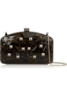 Valentino Studded embossed clutch
