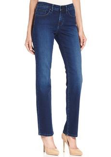 Calvin Klein Jeans Curvy-Fit Straight Jeans, Secret Wash
