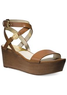 MICHAEL Michael Kors Jalita Charm Platform Wedge Sandals