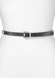 MICHAEL Michael Kors Belt - Square Flat Stud Panel