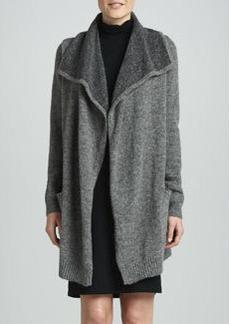 White + Warren Double-Face Sweater Coat