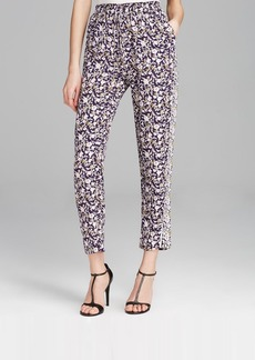 Rebecca Taylor Pants - Indian Floral Print