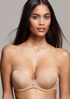 Calvin Klein Underwear Strapless Push Up Bra - Naked Glamour #F3493