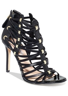 GUESS Women's Leday2 Caged Dress Sandals