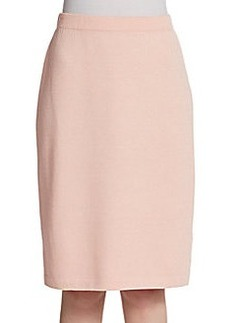 St. John Santana Knit Pencil Skirt
