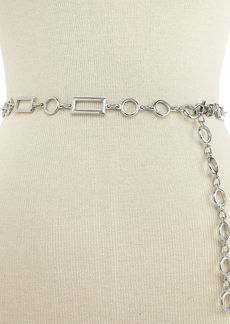 Style&co. Rectangles and Circles Chain Belt
