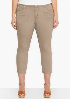 Levi's® Plus Size Mid-Rise Skinny Cropped Jeans, Gazelle Wash