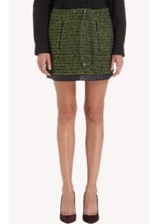 Proenza Schouler Bouclé A-Line Miniskirt