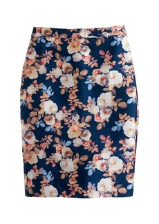 Collection No 2. pencil skirt in antique floral