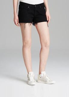 rag & bone/JEAN Shorts - Cutoffs in Coal