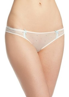 Betsey Johnson Women's Bridal Lace Bikini