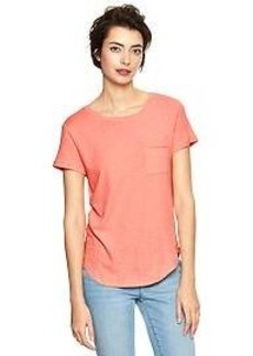 Pocket shirttail tee