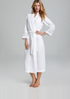 Oscar de la Renta Signature Knit Robe