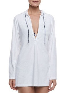 Signature Terry Hooded Tunic   Signature Terry Hooded Tunic