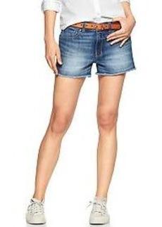 1969 raw-edge maddie denim shorts