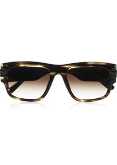 Givenchy Square-frame tortoiseshell polarized sunglasses