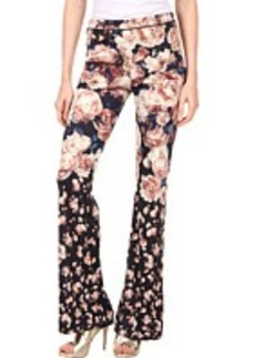 Jean Paul Gaultier Rose Jersey Pants - Set2