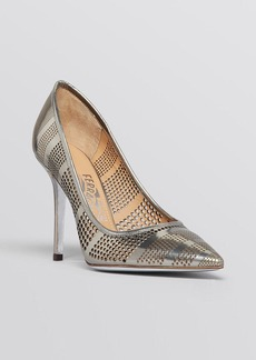 Salvatore Ferragamo Pointed Toe Pumps - Susi Laser High Heel