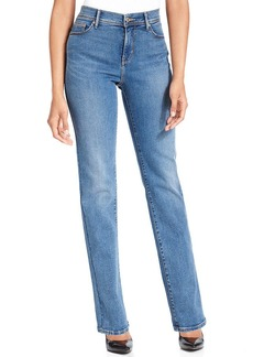 Levi's Petite Jeans, 512 Perfectly Slimming Straight-Leg, Western Light Wash