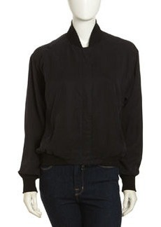 Paper Denim & Cloth Shea Tencel Jacket, Black