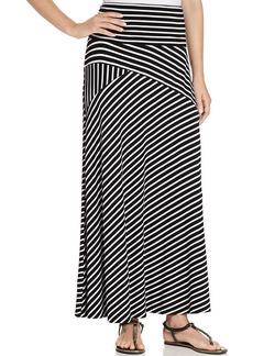 Style&co. Petite Striped Convertible Maxi Skirt