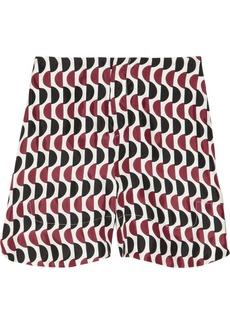 Marni Printed sateen-twill shorts