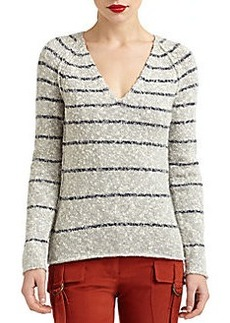 Derek Lam Chunky Knit Lambswool & Cashmere Sweater