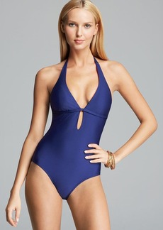 Splendid Bayside Solid One Piece Swimsuit
