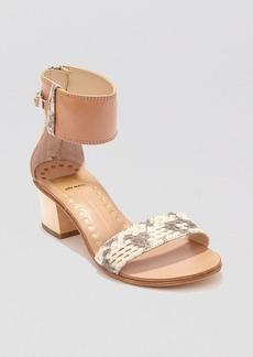 Dolce Vita Open Toe Sandals - Foxie Block Heel