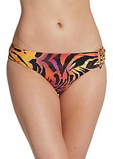 Natori Dragon Animal-Print Swim Bottom