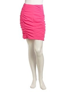 Nanette Lepore Screen Test Ruched Skirt, Pink