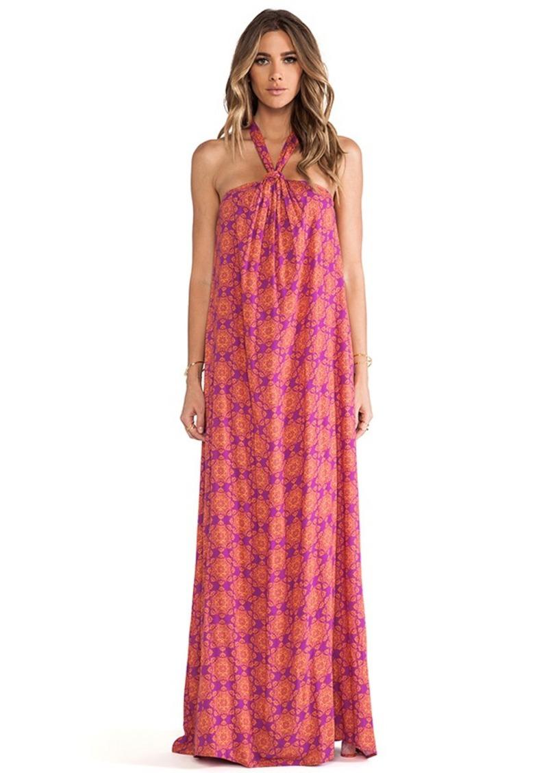 Ella Moss Moselle Maxi Dress in Fuchsia