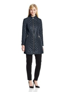 Via Spiga Women's Zip-Front Quilted Jacket