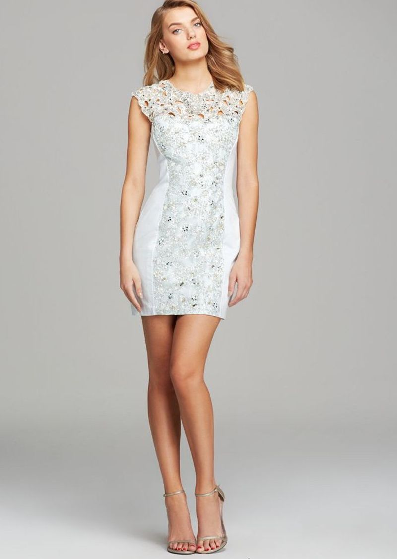 FRENCH CONNECTION Dress - Fast Encrusted Lace