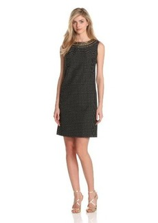 Jones New York Women's Sleeveless Embesllished Dress