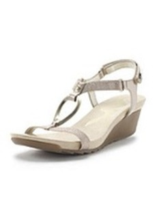 "AK Anne Klein Sport ""Sibeal"" Velcro Dress Sandals"