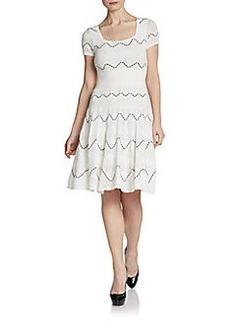 Catherine Malandrino Cassidy Zigzag Dress