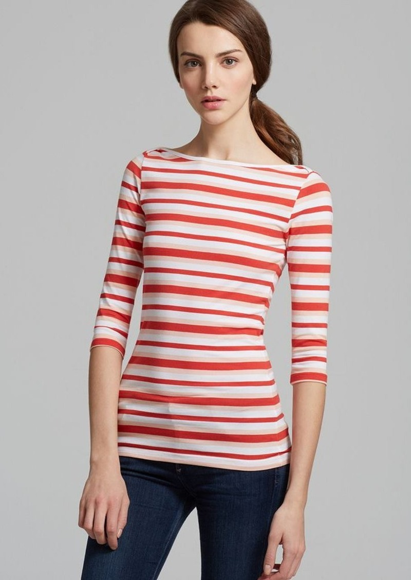 FRENCH CONNECTION Tee - Space Hopper Stripe
