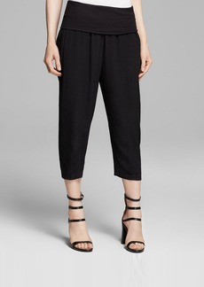 DKNY Pure Cropped Pull-On Pants