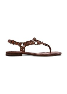 Frye Carson Ring Thong Sandal in Brown