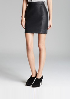 FRENCH CONNECTION Skirt - Riot Faux Leather