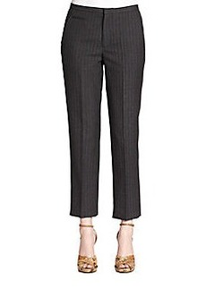 Marc Jacobs Pinstripe Ankle Pants