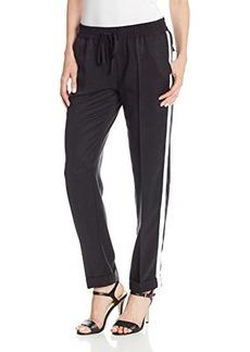 Michael Stars Women's Tencel Rolled Skinny Chino Pant