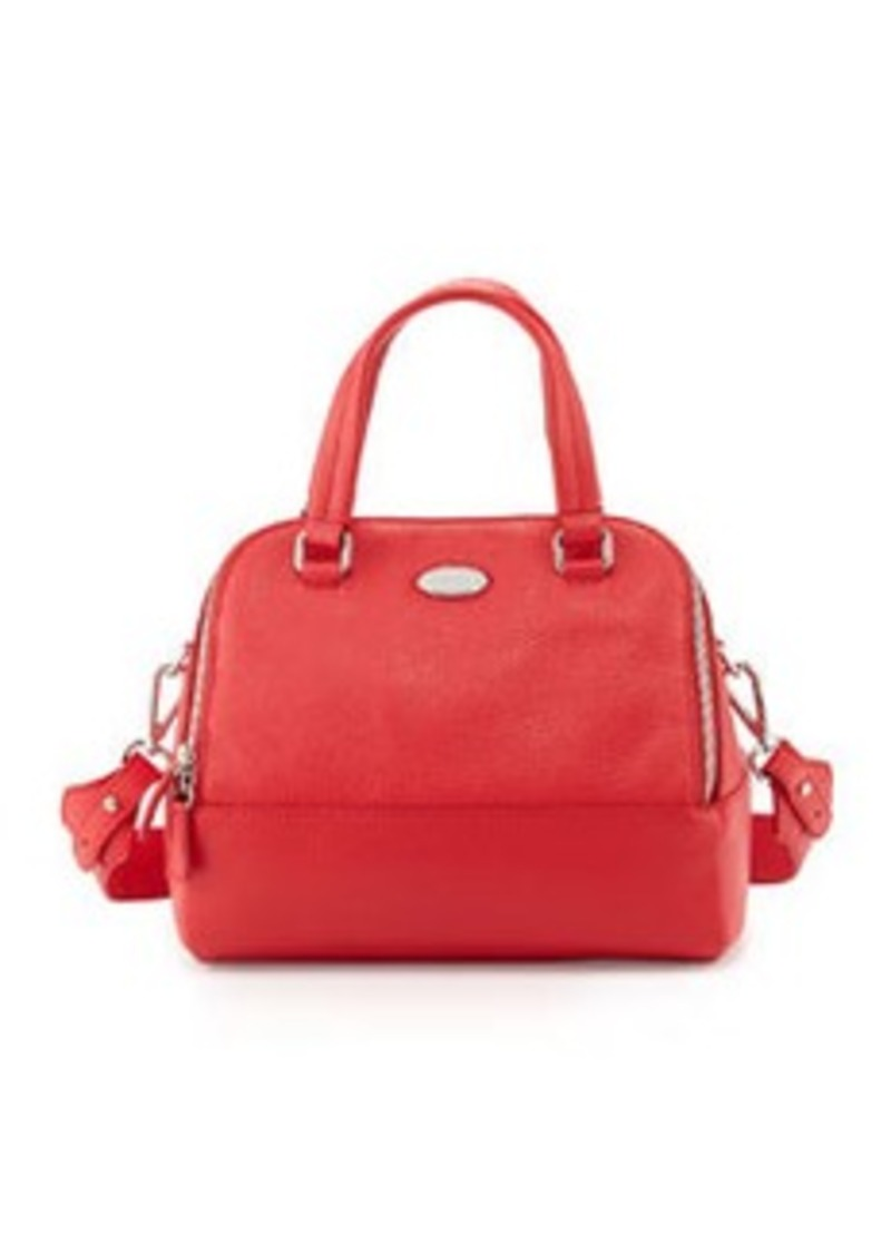 furla furla amalfi medium dome bag red handbags shop it to me. Black Bedroom Furniture Sets. Home Design Ideas