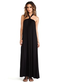 Ella Moss Tali Maxi Dress in Black