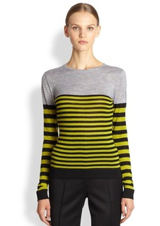 Jason Wu Merino Wool Stripe Top