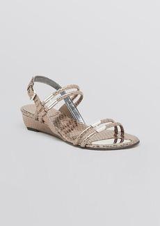 Stuart Weitzman Demiwedge Sandals - Rolldown