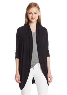 Michael Stars Women's Three-Quarter Sleeve Cocoon Sweater